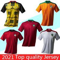 2020 2021 Morocco Jerseys Soccer 20 21 Egitto Casa Away Maillot deley Ziyech Boufal Fajr Munir Ait Bennasser Amrabat Camicie da calcio
