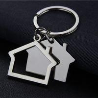 الإبداعية منزل شكل سلاسل المفاتيح أقراط المنزل تصميم سيارة مفتاح سلسلة مفتاح الأزياء الإكسسوارات قلادة مفتاح حامل DA292 610 K2