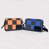 2021 Herren Einfacher und komfortabler Rucksack für tägliche Schultasche Klassische Mode Postsäcke Eine Umhängetasche Handtasche