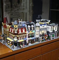 Esszimmer Coffee-Shop Creator Stadt Street View Modellbau Kits Blöcke Ziegel Spielzeug-Kind-Geschenk Kompatibel 19 Style Design