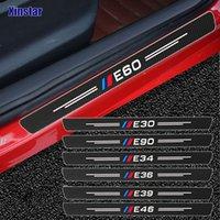 4 шт. Углеродное волокно производительность автомобиля наклейка бампера для BMW E30 E36 E39 E46 E60 E87 E90