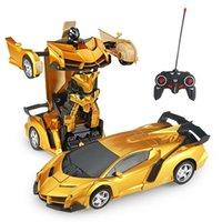 RC CAR 24 Стили Роботы Игрушки Toys Трансформация Роботы Спорт Модель Автомобиля Удаленная Прохладная деформация Автомобиль Детские Игрушки Подарки для мальчиков 201203