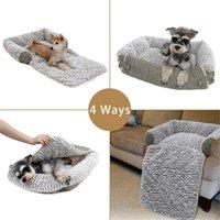 4 способа использовать домашнюю собаку кровать подушки мягкие бархатные собаки щенок кровати PET PAD коврик теплый питомник собаки кошек гнездо для маленьких средних собак 201130
