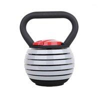 دمبل رياضة معدات اللياقة البدنية 20 رطل الوزن قابل للتعديل kettlebell الجسم بناء 40 الحديد غلاية جرس dumbbell1