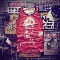 Hip-Hop Igiverson Play Tank Tops Men's 2018 Verano Malla 3D Chaleco Fit Slim sin mangas Tee Shirts Ventilate Culturally Rothing1