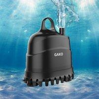 Водонасочный водяной насос Gako водонепроницаемый ультра-тихий погружной водный фонтан насос фильтр для рыбы танк пруд фонтаны фонтаны Y200922