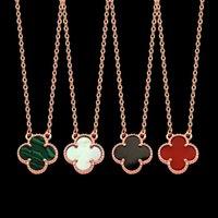 Venta caliente 316L Collar de acero de titanio Colgante con una sola flor de flores Mujeres y hombre collar Lovejewely