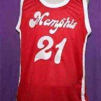 Benutzerdefinierte 604 Jugendfrauen Vintage Larry Finch Red Sounds Retro 1972-74 Home # Basketball Jersey Größe S-4XL oder benutzerdefinierte Neiner Name oder Nummer Jersey
