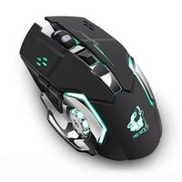 Wiederaufladbare X8 Wireless-Silent-LED Backlit optische USB Ergonomische Gaming Mouse USB-Maus