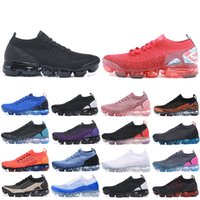 Nike Air Vapormax 2018 Max Fly 2.0 Chaussures Laser Arancione donne Mens Trainers zapatos Sport all'aria aperta scarpe da tennis correnti