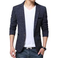 Browon Yeni Varış Erkek Blazer Ceket Takım Elbise Düğün Balo Parti Slim Fit Akıllı Casual Suit Erkekler Ceket Iş Erkekler Takım Elbise Ceket Y201026