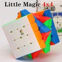 Magic Cube Puzzle Yuxin Little Magic 4x4x4 4x4 Cubo magnético Cubo de velocidad profesional Twist Educational Twist de Juguetes de Juguetes Juguetes Y200428