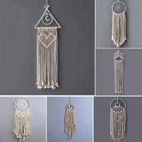 Pizzi fatti a mano Dreamcatcher Wind Chimes India Weaving Collan Wedding le decorazioni di arte della parete Hanging Gocce migliore regalo