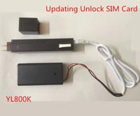 Ücretsiz DHL VSIM Tek Akıllı Okuyucu ve Yazar Dongle V6 V7 V8 USB Kablosuyla USB Kablosu Kilidini Açma Kilidi
