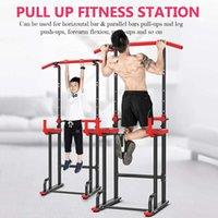 Horizontale Balken Stahl Pull Up Bar Home Gym-Ausrüstung Push Einstellbares Krafttraining Werkzeug Parallel USV-Ständer
