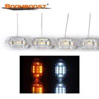 Interiorexternale Lichter Großhandel Type LED mit Drehsignal Balken Kristall DRL Tränenstreifen Dual Color 12V Tagfahrer Light1
