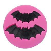 Bitte Moulds Halloween-Kuchen-Dekoration Silikon Moldes Zuckerfertigkeit Backen-Werkzeuge Mold Geisterfest-Dekoration Lieferungen 1 4sqa G2