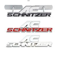 3d المعادن سيارة الخلفية جذع شعار ملصق الشارات تقليم الجبهة هود شواء ل bmw ac schnitzer m 3 5 6 z e e46 e39 e36 e34 x1 x3