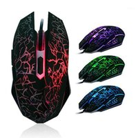 Professional Colorful Backlight 4000DPI Optical Wired Gaming...