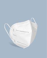 KN95 FFP2 PM2.5 الغبار المضادة للغبار 95٪ قناع مرشح تنفس مريح قناع الأنف المعدنية في الهواء الطلق FFP2 ميزات واقية