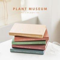 Notepads Valiosopa Planta Museo Cuaderno Mini Papel de Tamaño Portátil Tulipanes Lucky Clover Tulips Rose Journal Diario Book Bloc de notas Escuela A6079