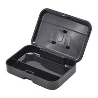 Casos de cigarro de cor pura plástico 110 * 75mm Humidor Outdoor viagem portátil de alta qualidade caixa de charuto armazenamento acessórios para fumar EF4892