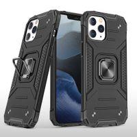 Новые анти-шок и анти падения сотовый телефон дела для iPhone 12 Mini / Pro / Pro Max 11 Доспех Мобильный телефон Защитный чехол с Kickstand