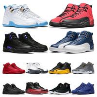 New 11 11s 25º aniversário Criado Concord 45 Space Jam Mens Sapatos de Basquete 12 12s Indigo Jogo Royal Reverse Gripe Game Homens Sneakers Treinadores