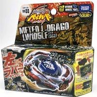 100% original Takara Tomy Beyblade Metal Fusion BB-88 Meteo L Drago LW105LF + Launcher L 210128