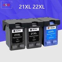 Inktcartridges ASW Compatibel 21 22 XL Cartridge Vervanging voor 21XL 22XL Deskjet F2180 F2280 F4180 F380 380
