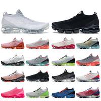 nike air vapormax 2019 nike vapormax plus tn plus Mujeres Hombres Zapatos para correr Pure Platinum Triple Black USA Blue Fury Moon Landing Zapatillas de deporte