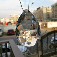 5pcs Chandelier Crystals Prism 2 fori pendenti di cristalli appesi per soffitto basso fai da te Suncatcher Home Home Decor di nozze Accessori H BBYPRX