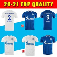 20 21 New Schalke Soccer Jerseys Kutucu Serdar 2020 2021 FC Schalke 04 Harit Raman Football Shirt Ozan Harit Maillot de Foot Football Shirt