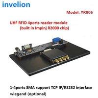 4Ports Impinj R2000 리더 모듈 액세스 제어 System1 용 무료 테스트 태그 샘플이있는 고정 UHF RFID 리더 모듈 1