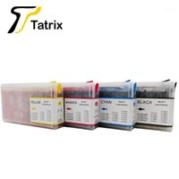 Tatrix Cartuchos de tinta recargables completos para T6771 T6774 Workforce Pro WP-4011/4022/4091/4092/4511/4521/45311/4521/45311