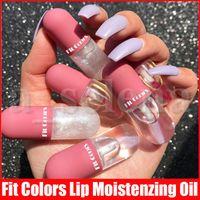 Ajuste Cores Mini Líquido Batom Hidratante Lip Lip Tint Lips Transparente Óleo Lip Plumping Plumper Brilhante LipGloss 3 Estilos