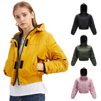 New arrived Big goose Thickened Women's Down Jacket Hooded Tooling Coat Fashion Loose Short Jacket Casual Outdoor Plus size Fast shipping