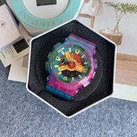 Классический Японский G110 Военное влияние Марка Часовой Светодиодный Дисплей Хронограф Спорт Новые Часы Мужской Водонепроницаемый Силиконовые Часы Кемпинг Мужчины
