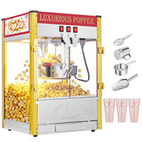 850W Vintage Professional Electric Popcorn Maker Popper Mach...