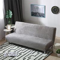 أفخم النسيج أضعاف مذر الذرية أريكة غطاء سرير قابلة للطي المقعد الغلاف سمكا يغطي مقعد الأريكة حامي مرنة فوتون غطاء الشتاء LJ201216