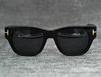 2021 Luxo Top Qualtiy Nova Moda 211 Tom Sunglasses for Man Woman Erika Eyewear Ford Designer Sun Óculos 0699 Frete Grátis