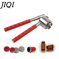 Jiqi Stainless Steel Hand Held Crimper Vial Sealer 13 milímetros 15 milímetros 20 milímetros garrafa de perfume da selagem manual Capper lanço fora Capping