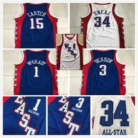 Аутентичные сшиты 2004 Все Трейси звезда 1 McGrady Vince 15 Carter Mitchell Ness Летки Аллен 3 Иверсосон Баскетбол