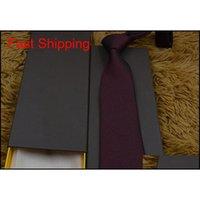 Yeni Stiller Moda Erkekler Bağları İpek Kravat Erkek Boyun Bağları El Yapımı Düğün Mektup Kravat İtalya 14 Stil İş Ti Qylfoo HOMES2007