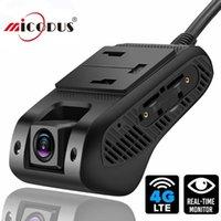 سيارة GPS الملحقات JC400P 4G Dash Camera 1080P مع Live Video Expiting Tracking Remote Monitoring DVR Recorder عبر الكمبيوتر الشخصي