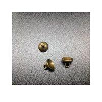10sets 50 мм высотой 18 мм ширина прозрачный стеклянный глобус бронзовый покрытый кружевной лоток 8 мм шапки шапки DIY стеклянные флаконы кулон ювелирные изделия Jllnyd