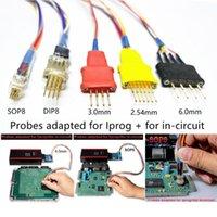 Strumenti diagnostici SONDA Adattatori per cavi in-circuito ECU funziona IProg 5 Sonde senza saldatura Xprog IProg + 1