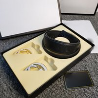 Cinture da donna cintura cinture cinture in pelle cinghie nere cinture donne serpente grande oro fibbia da uomo classico casual cintura perla cinghia ceinture bianco scatola impostata all'ingrosso