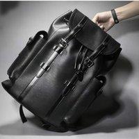 erkekler omuz çantası çanta bayan presbiyopik sırt çantaları bayan postacı çantası için Moda sırt çantası büyük sırt çantası kadın hakiki deri sırt paketi