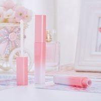 Gradient Rosa Lipgloss Rohre DIY leere kosmetische Behälter nachfüllbare Flaschen Flüssigkeit Lippenstift Vorratsflasche 240PCS Großhandel